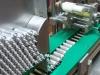 Otomatik özel yuvarlak ürün etiketleme ve sarma makinası
